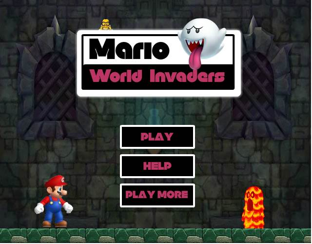 Mario World invalders