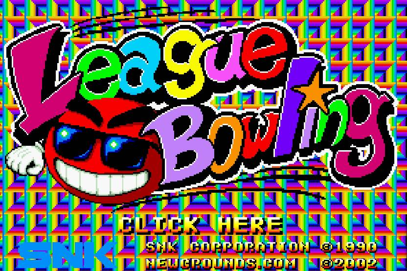 Joue à Neo Geo League Bowling