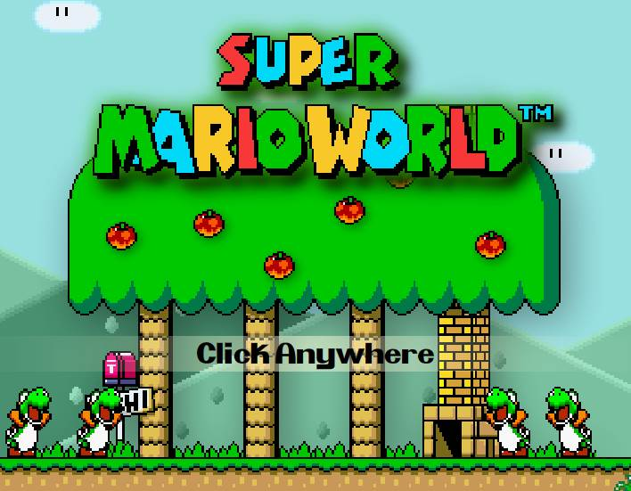 Joue en ligne à Super Mario World